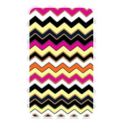 Colorful Chevron Pattern Stripes Pattern Memory Card Reader