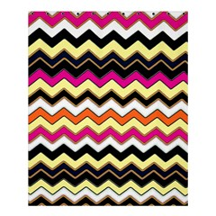 Colorful Chevron Pattern Stripes Pattern Shower Curtain 60  X 72  (medium)