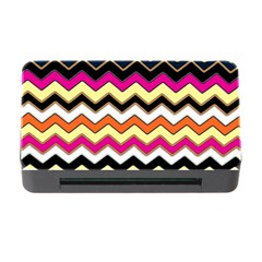 Colorful Chevron Pattern Stripes Pattern Memory Card Reader with CF