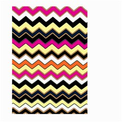 Colorful Chevron Pattern Stripes Pattern Large Garden Flag (Two Sides)