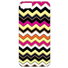 Colorful Chevron Pattern Stripes Pattern Apple iPhone 5 Classic Hardshell Case