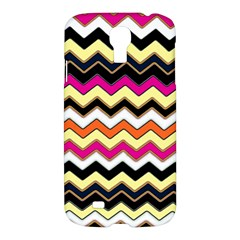 Colorful Chevron Pattern Stripes Pattern Samsung Galaxy S4 I9500/I9505 Hardshell Case
