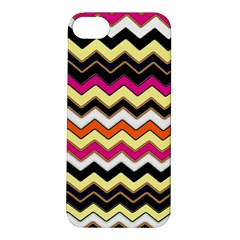 Colorful Chevron Pattern Stripes Pattern Apple iPhone 5S/ SE Hardshell Case
