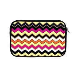 Colorful Chevron Pattern Stripes Pattern Apple Macbook Pro 13  Zipper Case