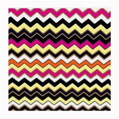 Colorful Chevron Pattern Stripes Pattern Medium Glasses Cloth