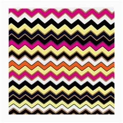 Colorful Chevron Pattern Stripes Pattern Medium Glasses Cloth (2 Side)