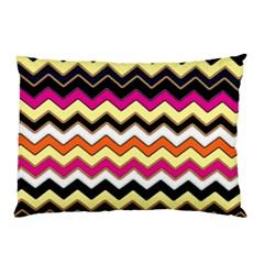 Colorful Chevron Pattern Stripes Pattern Pillow Case (Two Sides)