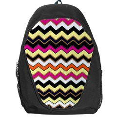 Colorful Chevron Pattern Stripes Pattern Backpack Bag