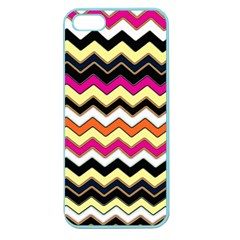 Colorful Chevron Pattern Stripes Pattern Apple Seamless iPhone 5 Case (Color)