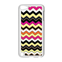 Colorful Chevron Pattern Stripes Pattern Apple Ipod Touch 5 Case (white)