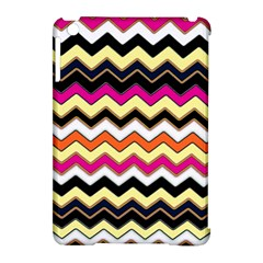 Colorful Chevron Pattern Stripes Pattern Apple iPad Mini Hardshell Case (Compatible with Smart Cover)