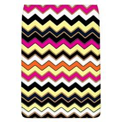 Colorful Chevron Pattern Stripes Pattern Flap Covers (L)