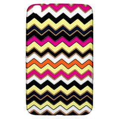 Colorful Chevron Pattern Stripes Pattern Samsung Galaxy Tab 3 (8 ) T3100 Hardshell Case