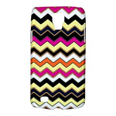 Colorful Chevron Pattern Stripes Pattern Galaxy S4 Active