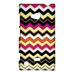 Colorful Chevron Pattern Stripes Pattern Nokia Lumia 720
