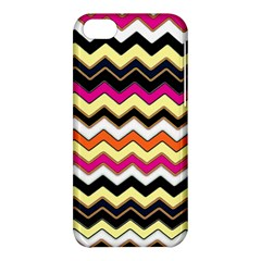 Colorful Chevron Pattern Stripes Pattern Apple Iphone 5c Hardshell Case