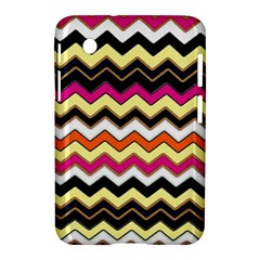Colorful Chevron Pattern Stripes Pattern Samsung Galaxy Tab 2 (7 ) P3100 Hardshell Case