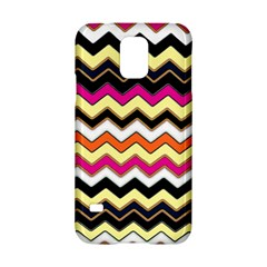 Colorful Chevron Pattern Stripes Pattern Samsung Galaxy S5 Hardshell Case