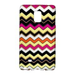 Colorful Chevron Pattern Stripes Pattern Galaxy Note Edge