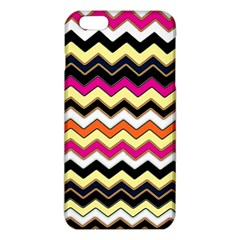 Colorful Chevron Pattern Stripes Pattern Iphone 6 Plus/6s Plus Tpu Case