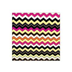 Colorful Chevron Pattern Stripes Pattern Satin Bandana Scarf
