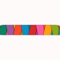 Colorful Lines Pattern Small Bar Mats