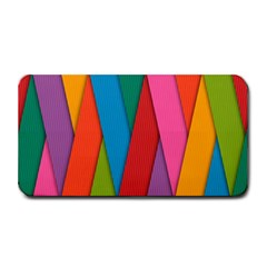Colorful Lines Pattern Medium Bar Mats