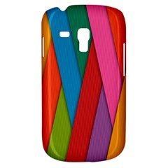 Colorful Lines Pattern Galaxy S3 Mini