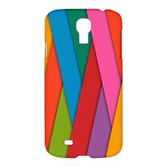 Colorful Lines Pattern Samsung Galaxy S4 I9500/I9505 Hardshell Case