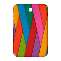 Colorful Lines Pattern Samsung Galaxy Note 8.0 N5100 Hardshell Case