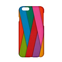 Colorful Lines Pattern Apple iPhone 6/6S Hardshell Case