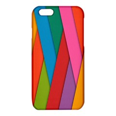 Colorful Lines Pattern iPhone 6/6S TPU Case