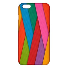 Colorful Lines Pattern Iphone 6 Plus/6s Plus Tpu Case