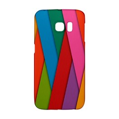 Colorful Lines Pattern Galaxy S6 Edge