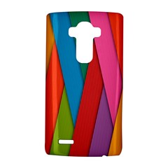 Colorful Lines Pattern LG G4 Hardshell Case