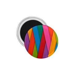 Colorful Lines Pattern 1 75  Magnets