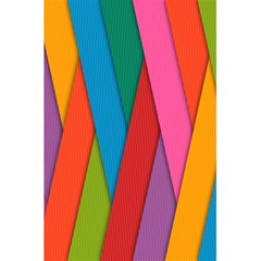 Colorful Lines Pattern 5 5  X 8 5  Notebooks