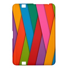 Colorful Lines Pattern Kindle Fire HD 8.9