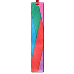 Colorful Lines Pattern Large Book Marks