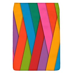 Colorful Lines Pattern Flap Covers (L)