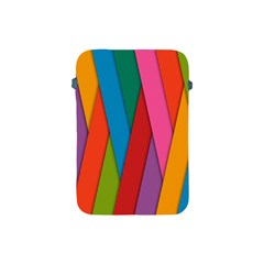 Colorful Lines Pattern Apple Ipad Mini Protective Soft Cases