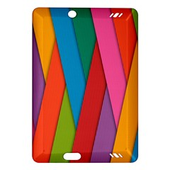 Colorful Lines Pattern Amazon Kindle Fire HD (2013) Hardshell Case