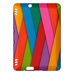 Colorful Lines Pattern Kindle Fire HDX Hardshell Case