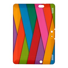 Colorful Lines Pattern Kindle Fire HDX 8.9  Hardshell Case