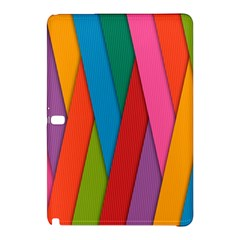 Colorful Lines Pattern Samsung Galaxy Tab Pro 10 1 Hardshell Case