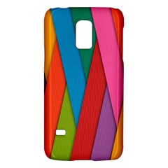 Colorful Lines Pattern Galaxy S5 Mini