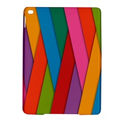 Colorful Lines Pattern iPad Air 2 Hardshell Cases