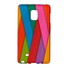 Colorful Lines Pattern Galaxy Note Edge