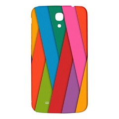 Colorful Lines Pattern Samsung Galaxy Mega I9200 Hardshell Back Case