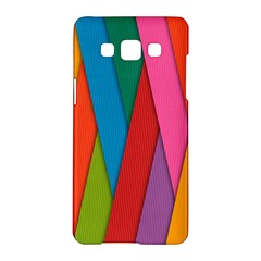 Colorful Lines Pattern Samsung Galaxy A5 Hardshell Case